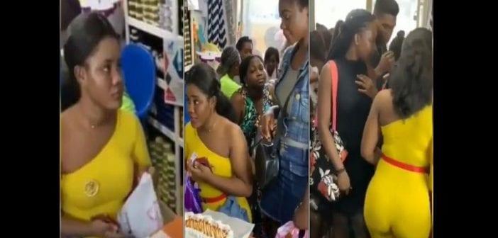Ghana, Des Femmes, Font La Queue,acheter Du Charme, Fait Vibrer,hommes Au Lit ,vidéo