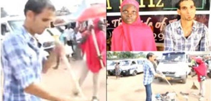 Ghana: Un Égyptien et son épouse forcés à balayer une gare routière