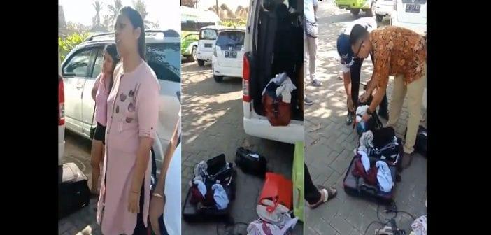 Indonésie : des touristes humiliés publiquement pour avoir volé des articles dans un hôtel (vidéo)
