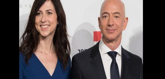 Jeff Bezos officialise son divorce à 38 milliards de dollars