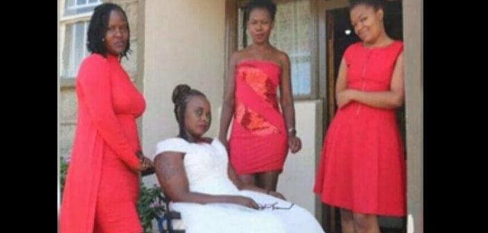 Kenya : Paralysée après un accident de voiture, elle décide se marier à elle-même (vidéo)
