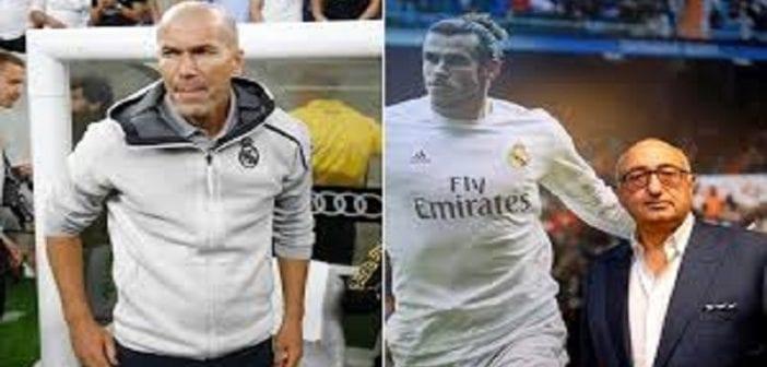"""L'agent de Gareth Bale : """"Zidane est une honte"""""""