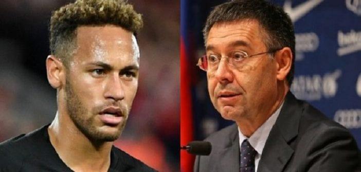 Mercato: Le président du Barça s'exprime sur le cas Neymar