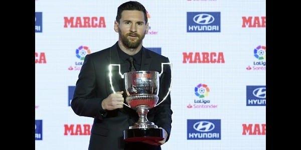 Messi désigné meilleur joueur de l'histoire de la liga: découvrez ses statistiques incroyables!