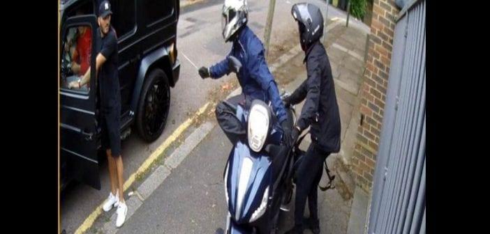 Mesut Ozil victime d'une attaque au couteau à Londres (Vidéo)