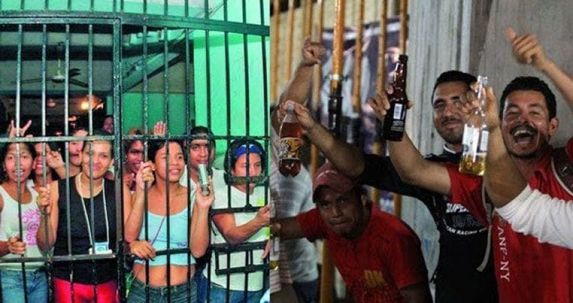 Mexique,les Femmes ,qui Ne Laissent Pas Leurs ,maris ,boire Avec Leurs Amis Iront , Prison