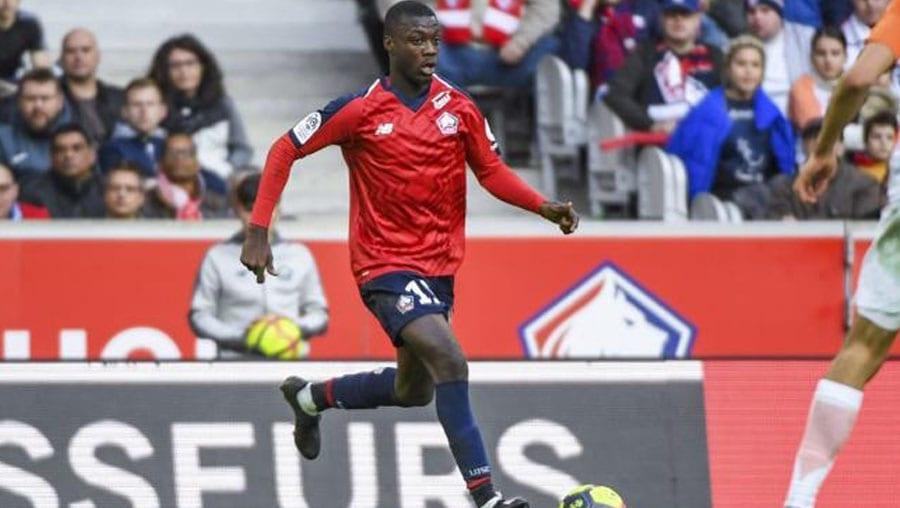 Nicolas Pépé devient le footballeur africain le plus cher de l'histoire