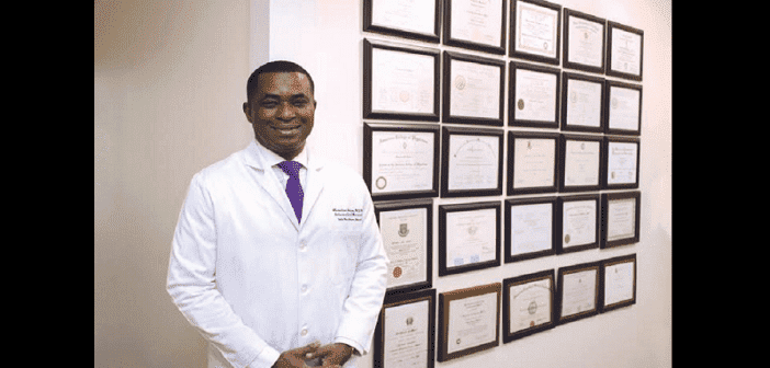 Olurotimi Badero : seul médecin au monde à devenir à la fois cardiologue et néphrologue