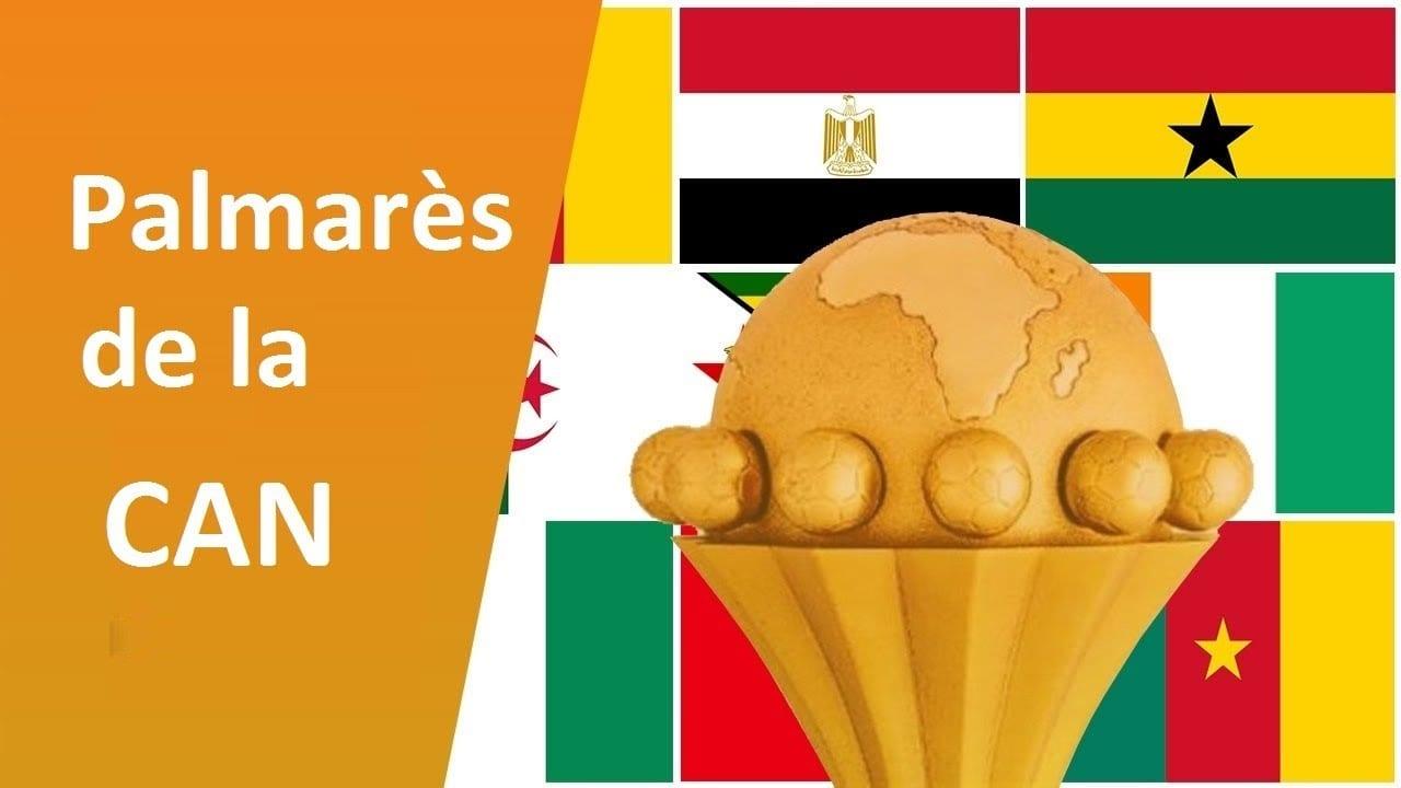 Palmarès de la Coupe d'Afrique des Nations (CAN) de 1957 à 2019