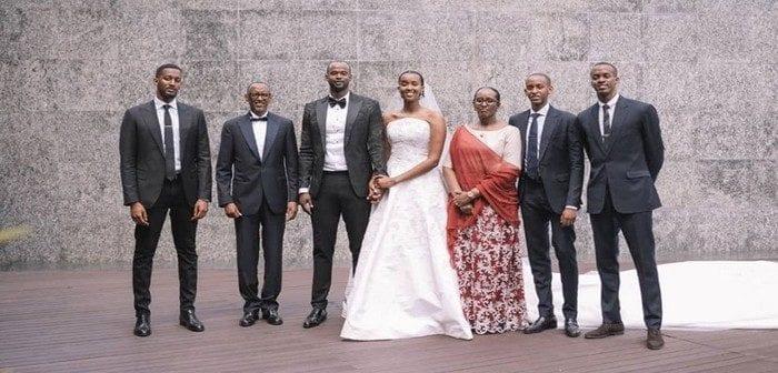 Rwanda, Découvrez En Images ,le Mariage ,ange Kagamé, La Fille Du Président
