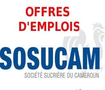 Société Sucrière du Cameroun ( SOSUCAM ) Recrute