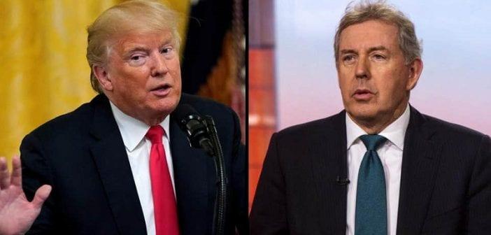 Trump insulte l'ambassadeur britannique à Washington qui démissionne