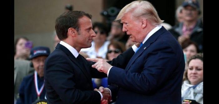 USA: Trump insulte Macron et menace la France