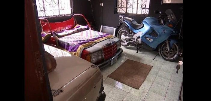 Un artiste nigérian transforme des voitures classiques en meubles (vidéo)