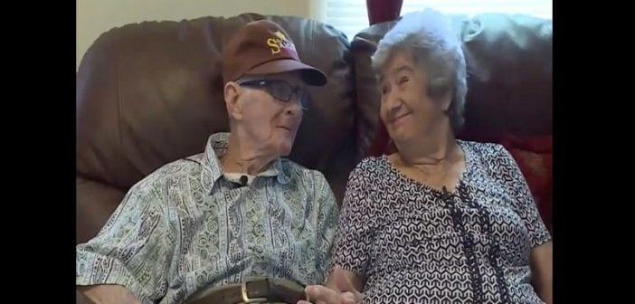 Un Couple Marié ,depuis ,71 Ans, Décède, Le Même Jour