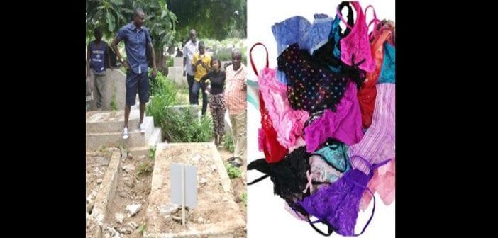 """Zimbabwe: des dessous de femmes découverts dans un cimetière pour un """"rituel d'argent"""""""