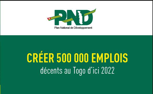 Togo / PND : plus de 200 000 emplois créés en 2 ans