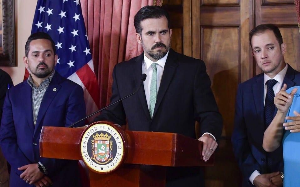 Le gouverneur de Porto Rico ,Ricardo Rossello démissionne