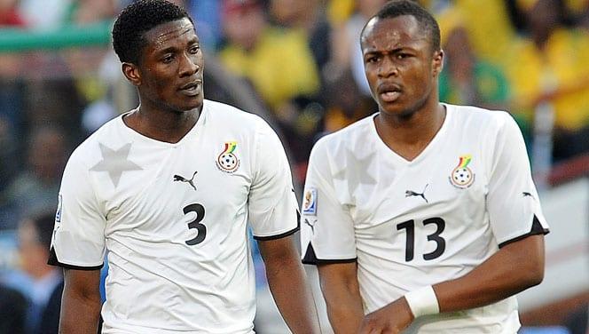 Ghana: Dede Ayew n'est pas mon ami a déclaré Asamoah Gyan