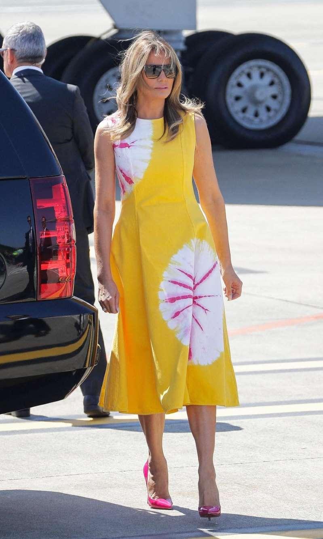 La sublime robe arborée par Melania Trump au G7 déjà en rupture de stock