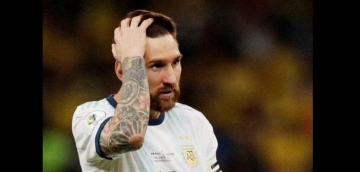 Argentine,lionel Messi, Suspendu , équipe Nationale