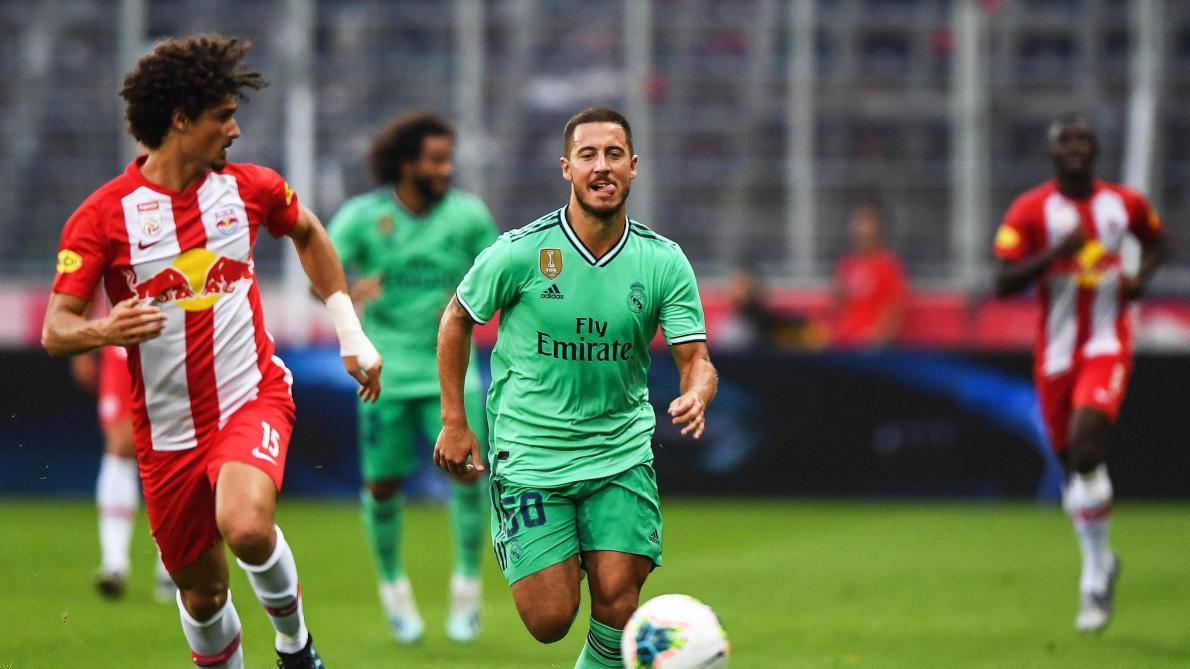 Vidéo: Le premier but d'Eden Hazard sous le maillot du Real Madrid