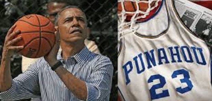 Barack Obama: son maillot de basket datant du lycée vendu à un prix fou