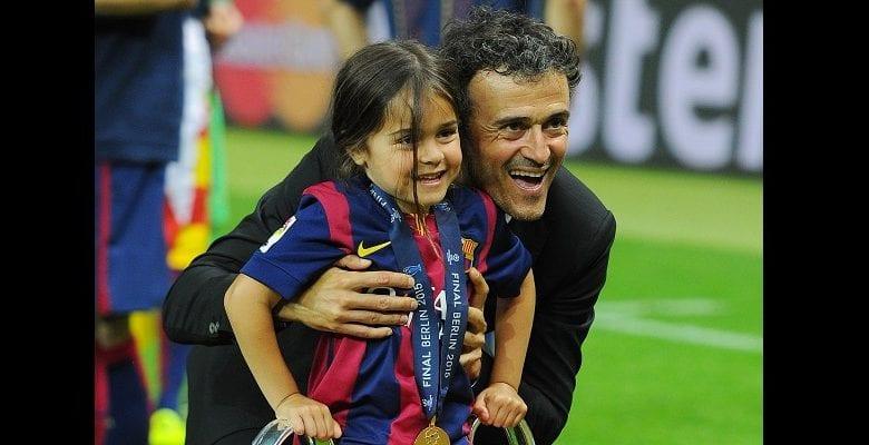 Barcelone : l'ex-entraîneur Luis Enrique en deuil, sa fille de 9 ans est décédée d'un cancer