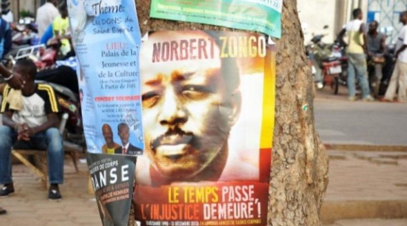 Burkina,assassinat , Journaliste ,norbert Zongo , Mémoires