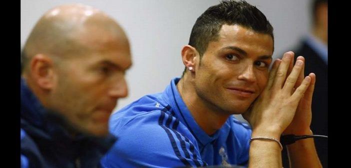 Cristiano Ronaldo, Hommage , Zinédine Zidane ,vidéo