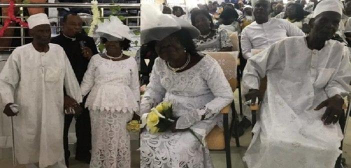 Ghana, Un Homme De 96 Ans, épouse , Partenaire De 93 Ans, 50 Ans , Romance ,photos)