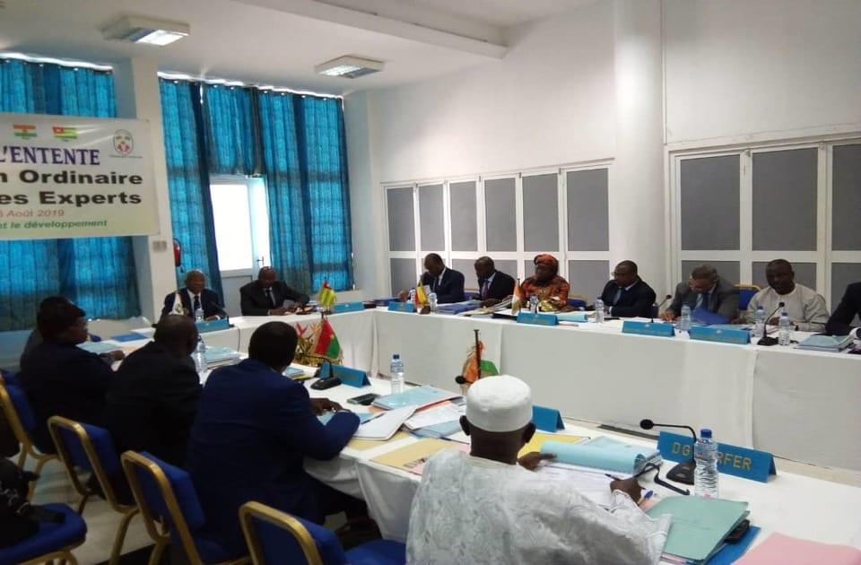 La 16ème réunion ordinaire du comité des experts a été organisée ce vendredi 02 août 2019 à Lomé par le Conseil de l'Entente (CE).