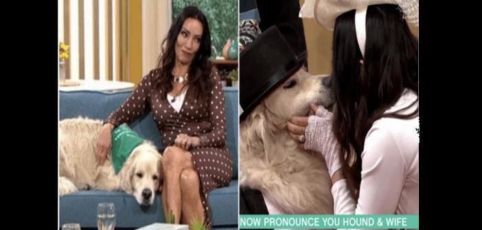 Insolite : une femme épouse son chien à la télé après avoir fréquenté 200 hommes (vidéo)