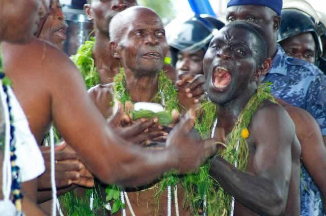 Kpessosso 2019 : La pierre sacrée adresse un message au président Faure Gnassingbé