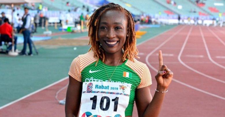 L'ivoirienne Marie Josée Ta Lou remporte une médaille d'or aux jeux africains