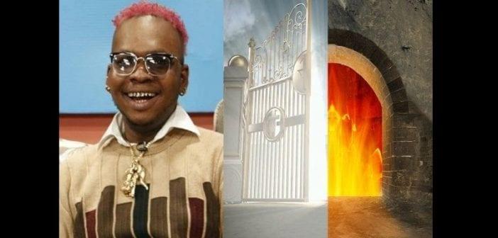 Le Paradis Et L'enfer; N'existent Pas, Ils Ont été Inventés ,blancs,dixit , Acteur Ghanéen
