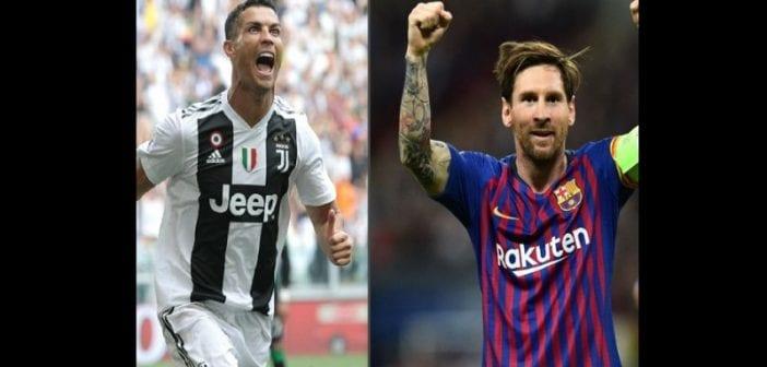 Lionel Messi , Cristiano Ronaldo,une étude Révèle , Meilleur