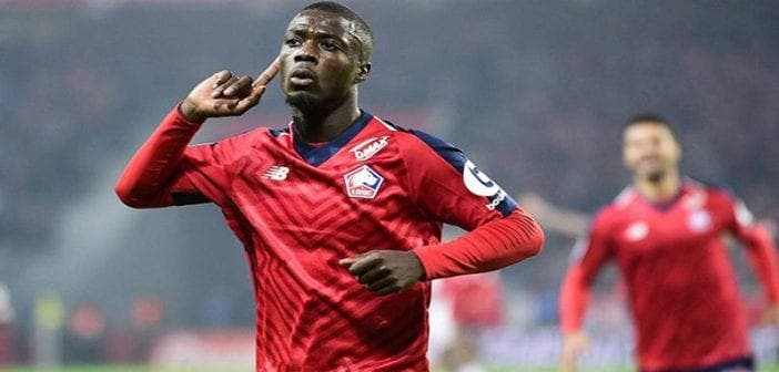 Nicolas Pépé devient le joueur africain le plus cher de l'histoire après son transfert (Voir le Top 6)