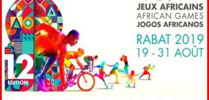Ouverture des jeux africains 2019 à Rabat au Maroc