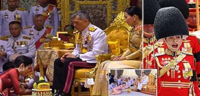 Thaïlande, Roi ,concubine, Reine Consort