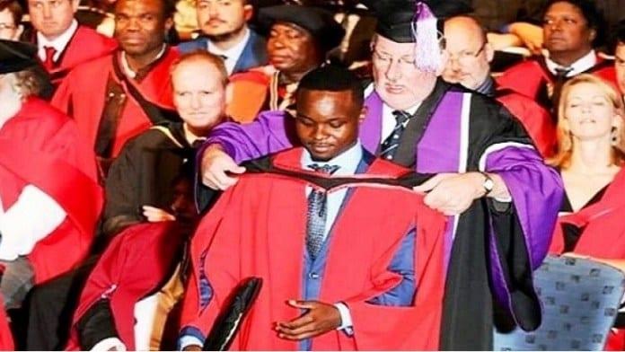 Un Camerounais ,remporte Le Prix ,meilleure Thèse , Doctorat En Afrique