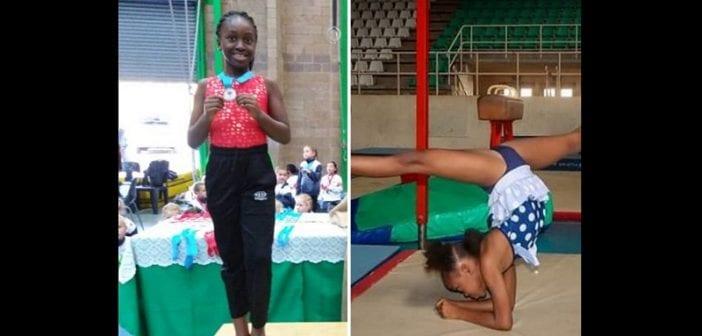 Une Nigériane de 8 ans remporte la médaille d'or au championnat d'Afrique de gymnastique