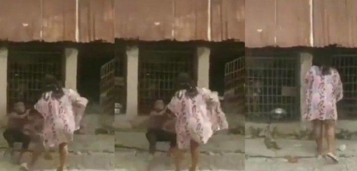 VIDÉO: Une Nigériane bat un enfant et l'enferme dans une cage avec des chiens