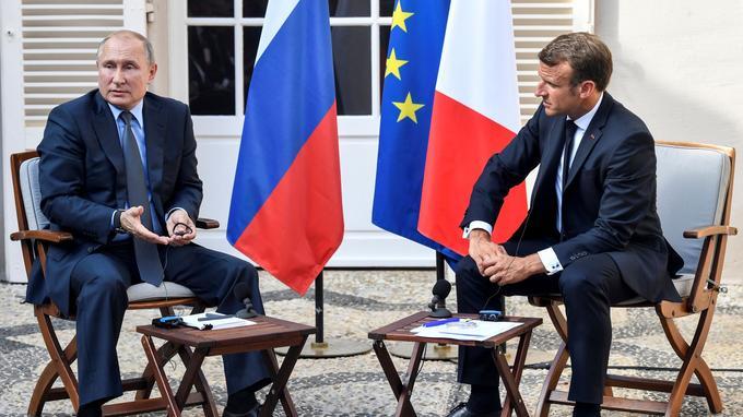 France: Ce que se sont dits Emmanuel Macron et Vladimir Poutine