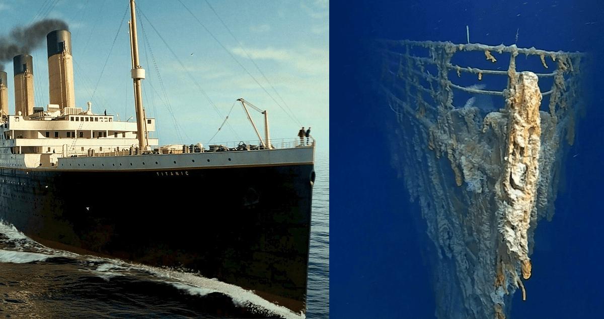 Titanic. Personne n'oublie aussi facilement l'histoire de ce navire qui a coulé. De nouvelles images ont été publiées sur internet. Elles montrent le navire au fond de l'eau près de l'île de Terre neuve dans un état de dégradation avancée