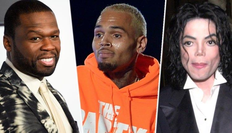 50 cent fait son choix entre Micheal Jackson et Chris Brown