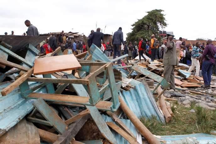 Kenya: Mort de 7 enfants dans l'effondrement d'une classe d'école