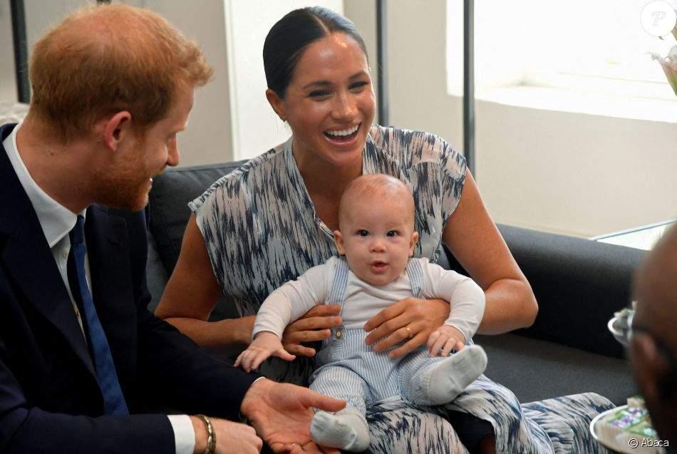 People : la duchesse de Sussex dévoile un cliché inédit de son adorable fils