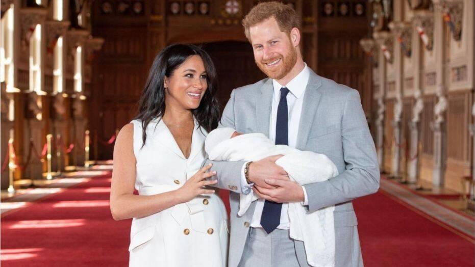 Harry et Meghan : Le couple royal et leur bébé en Afrique dix jours