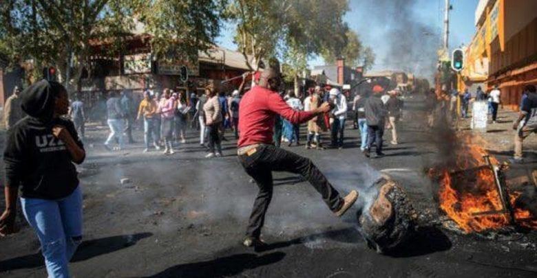 7 Choses ,afrique Du Sud ,a Perdues , Attaques Xénophobes